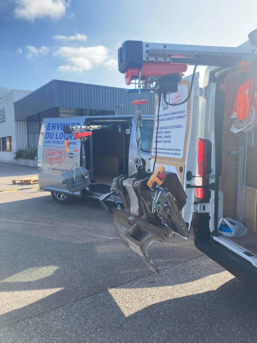 ERGODROP – Votre solution de manutention en toute sécurité !